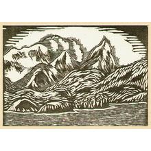 Kawakami Sumio: Snowy Landscape in Alaska - Hanga vol.3 - Artelino