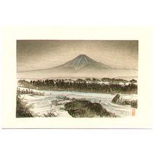 Tsukioka Kogyo: Mt. Fuji in Winter - Artelino