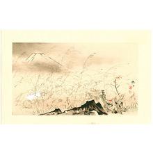 Takeuchi Seiho: Rabbit Runs - Twelve Views of Mt. Fuji - Artelino