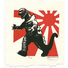 Tom Kristensen: Godzilla and Imperial Flag - Artelino