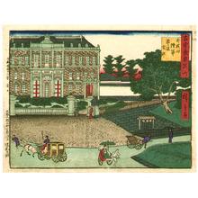 Utagawa Hiroshige III: Army Headquarters - Kokon Tokyo Meisho - Artelino