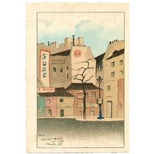 Sekiguchi Shungo: Town View in Paris - Artelino