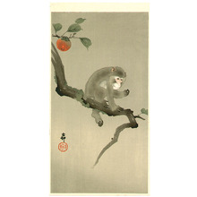 小原古邨: Monkey in a Tree - Artelino