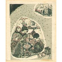Sekino Junichiro: Snow Room - Japanese Native Customs - Artelino