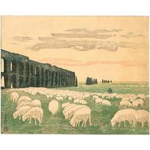 Yamagishi Kazue: Sheep and Roman Water Conduits - Artelino