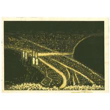 Maeda Masao: Hakodate in the Night - Artelino