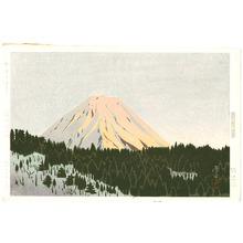 Okumura Koichi: Red Mt. Fuji - Artelino
