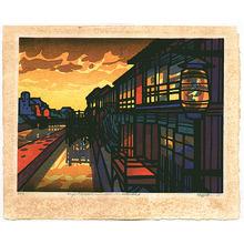 Karhu Clifton: Shijo River Bank - Famous Places of Kyoto - Artelino