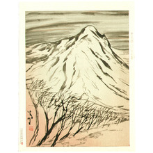 Takehisa Yumeji: Mountain in Winter - Artelino
