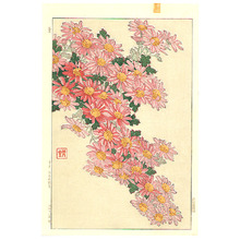 Kawarazaki Shodo: Chrysanthemum Cascade - Artelino
