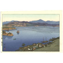 吉田博: A Calm Day - Inland Sea - Artelino