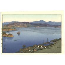吉田博: A Calm Day - Inland Sea - Artelino