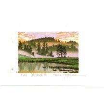 Morozumi Osamu: Oze in the Morning Mist - Japan - Artelino