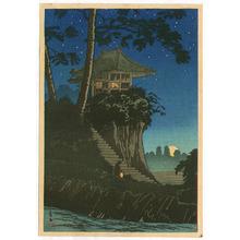 高橋弘明: Temple in the Night - Tokumochi - Artelino