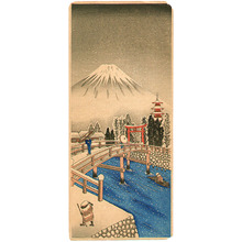 Unknown: Mt. Fuji in Snow - Artelino