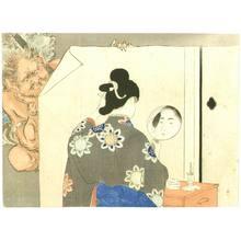 Mizuno Toshikata: At a Mirror - Artelino