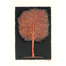 小野忠重: One Tree (2) Red - Artelino