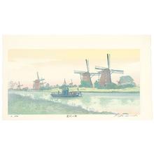 Okamoto Ryusei: Canal - Morning, Netherlands - Artelino