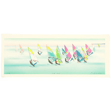 Okamoto Ryusei: Wind Surfers - South Wind - Artelino