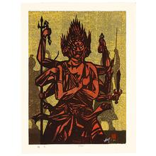 Sakamoto Isamu: Fudo - Buddhist Diety - Artelino