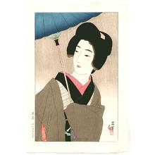 Ito Shinsui: Drizzling Rain - Shigure - Artelino