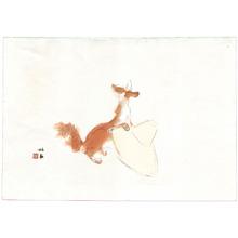 Takeuchi Seiho: Fox and Hat - Artelino