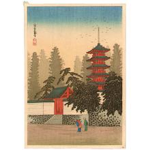 Takahashi Hiroaki: Temple of Kinugasa - Artelino