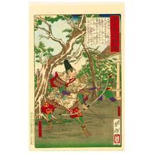月岡芳年: Sakanoue Karitamaro - Mirror of Famous Generals - Artelino