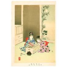 Miyagawa Shuntei: Fireworks - Children's Manners and Customs - Artelino