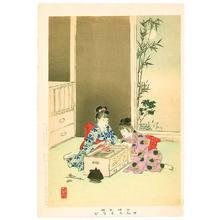 Miyagawa Shuntei: Fireworks - Children's Manners and Customs - Artelino