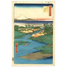 歌川広重: Horie and Nekozane - Meisho Edo Hyakkei - Artelino