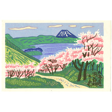 Fujishima Takeji: Lake Toya - Artelino