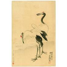 Kubota Beisen: Two Cranes - Artelino