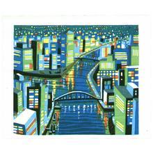 Ikeda Shuzo: City with a Canal - Artelino