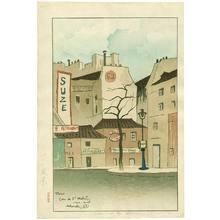 Sekiguchi Shungo: Town View from Paris - Artelino