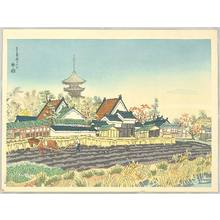 Kotozuka Eiichi: Yakushi Temple and the Vicinity - Artelino