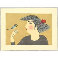Maekawa Senpan: Bird and Girl - Artelino