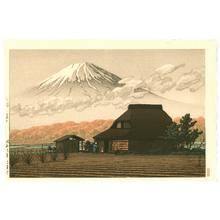 川瀬巴水: Mt. Fuji from Narusawa - Artelino