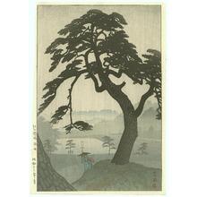 笠松紫浪: Pine in Rain - Artelino