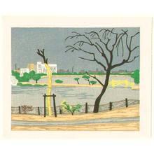 北岡文雄: Shonobazu Pond - Face of Tokyo No.5 - Artelino