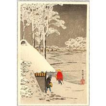 高橋弘明: Snow at Ikegami - Artelino