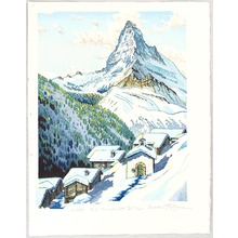 両角修: Mt. Matterhorn, Findeln - Switzerland - Artelino