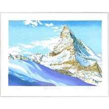 両角修: Solitary Mt. Matterhorn - Switzerland - Artelino