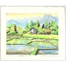両角修: Spring in Azumino Village - Japan - Artelino