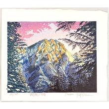 Morozumi Osamu: Mount Akadake among Trees - Japan - Artelino