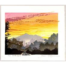Morozumi Osamu: Sunrise in Oze Field - Japan - Artelino