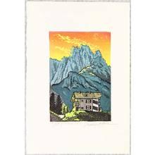 Morozumi Osamu: A Lodge on the Dolomites - Italy - Artelino