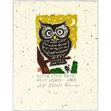 Kozaki Kan: Owl and Priest - Artelino