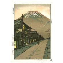 笠松紫浪: Mt. Fuji from Yoshida - Artelino