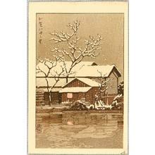 Kawase Hasui: Kaga in Snow - Artelino